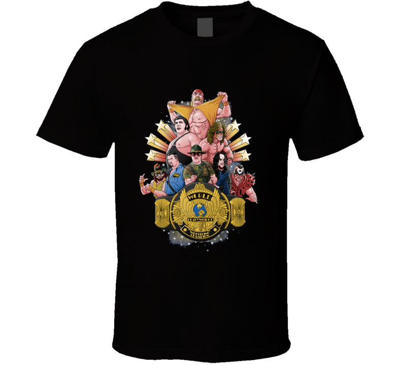 Wrestling Legends T Shirt