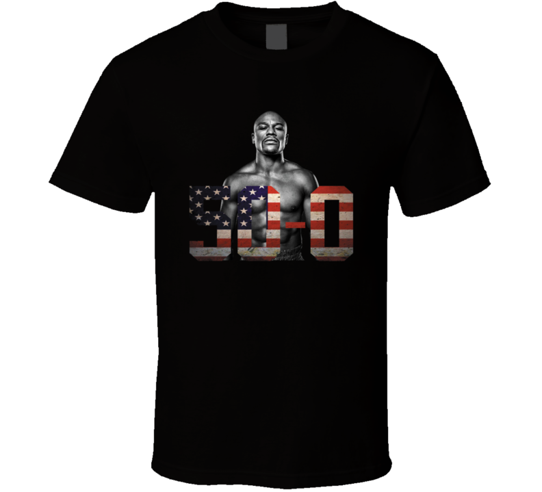 Mayweather Vs Mcgregor - 50-0 T Shirt