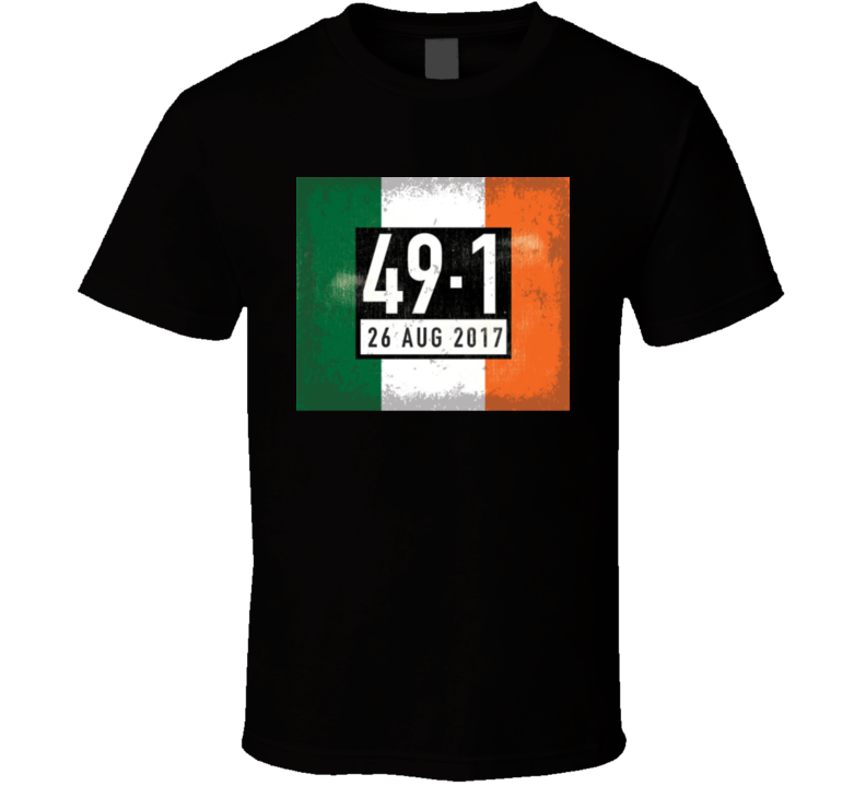 49-1 Conor Mcgregor Fan T Shirt