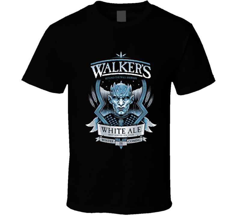 White Walker Ale Game Of Thrones T Shirt