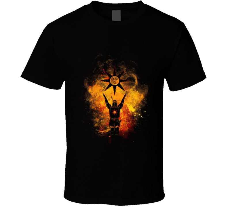 Solaire Praise The Sun Copy T Shirt