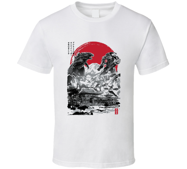 Jager Vs Godzilla Copy T Shirt