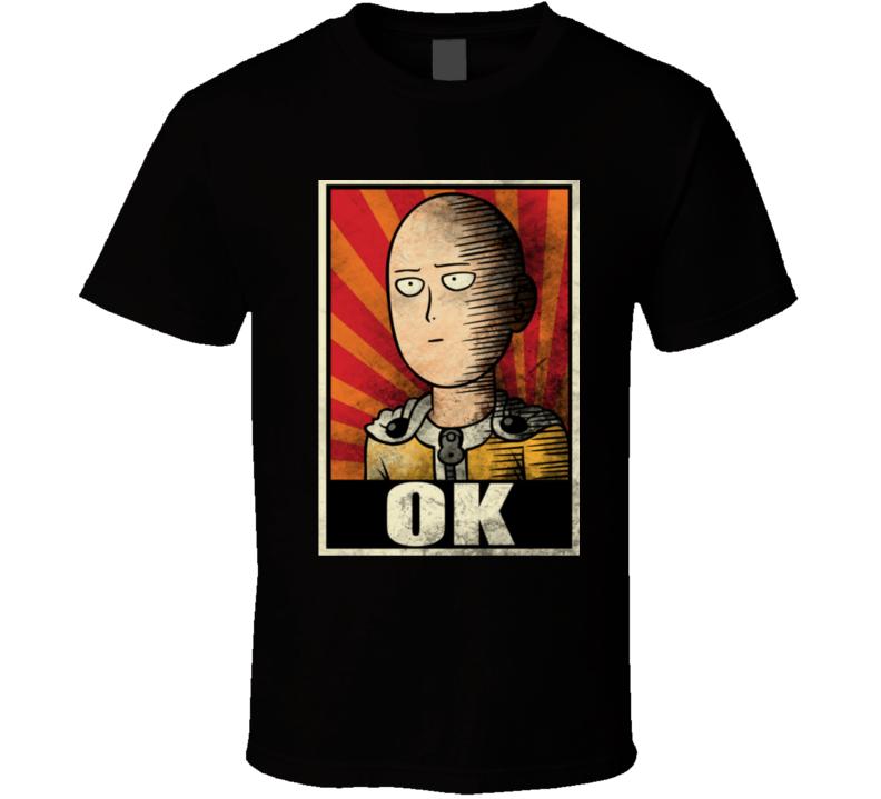 One Punch Man Ok T Shirt