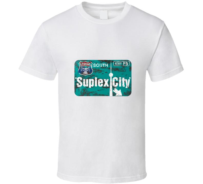 Suplex City Toronto T Shirt