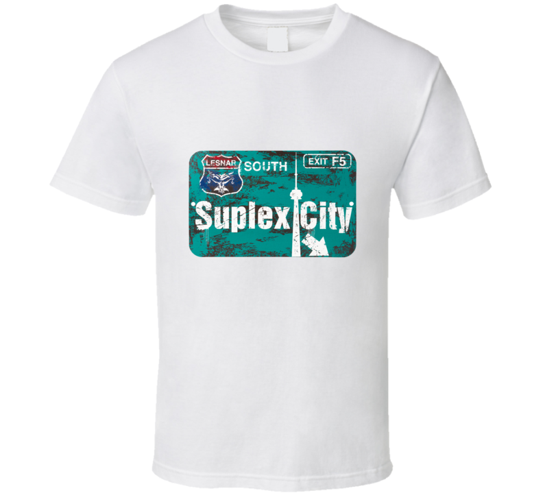 Suplex City Toronto T Shirt