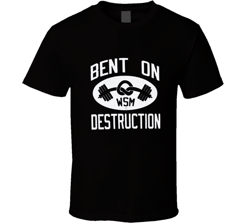 Mark Henry Bent On Destruction T Shirt