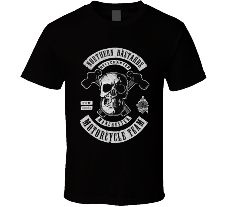 Northern Bastards Motorcycle Team T Shirt
