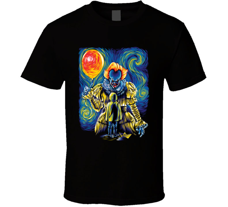 Pennywise Starry Night T Shirt