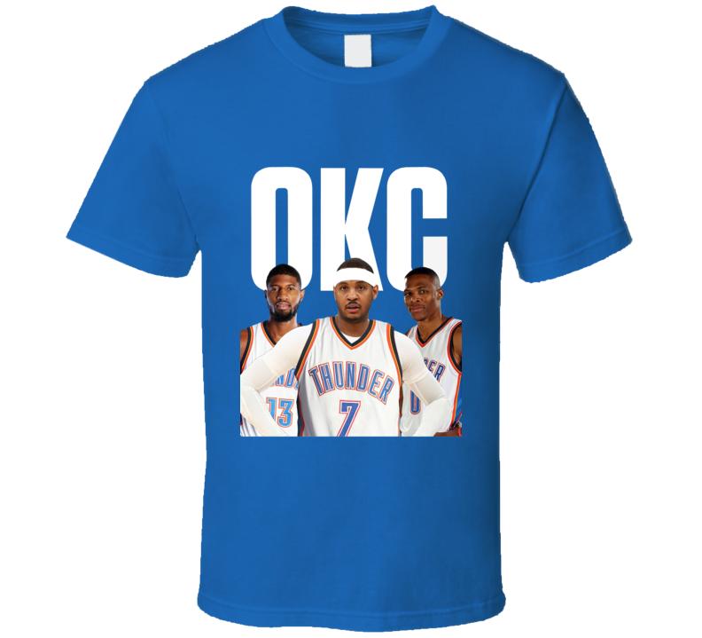 Okc Big 3melo, Pg, Brogie T Shirt