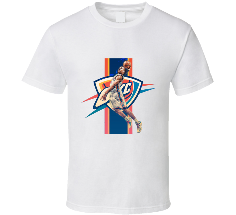 Russel Westbook Mvp Okc T Shirt