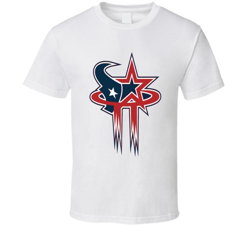 Houston Texans Astros Rockets Mashup T Shirt