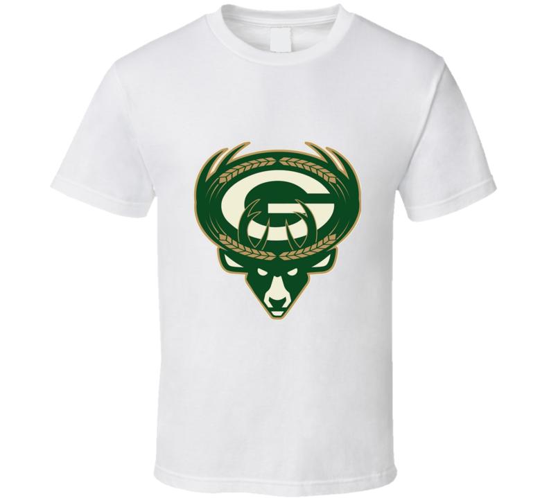 Milwaukee Brewers Packers Bucks T Shirt