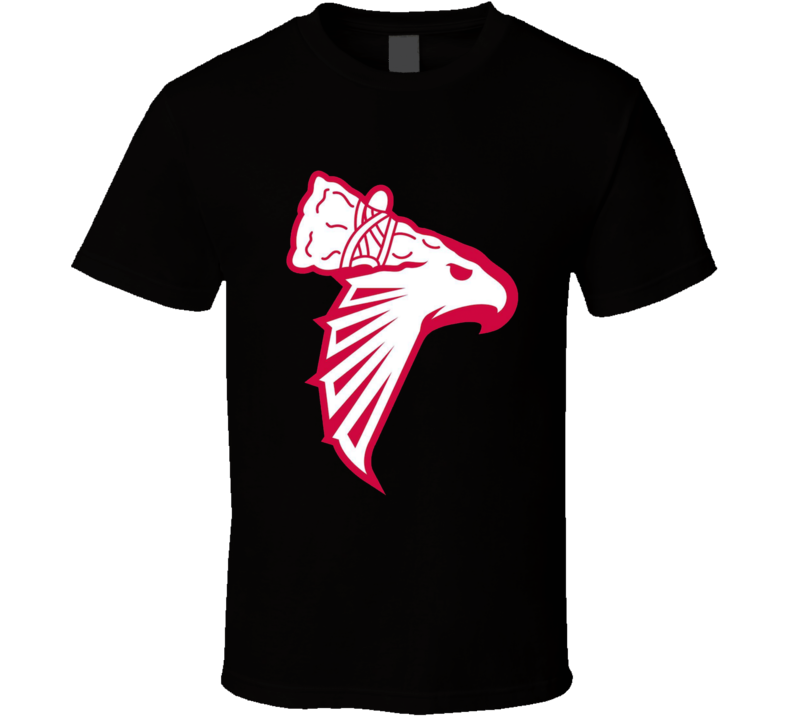 Atlanta Braves Falcons Hawks Mashup T Shirt