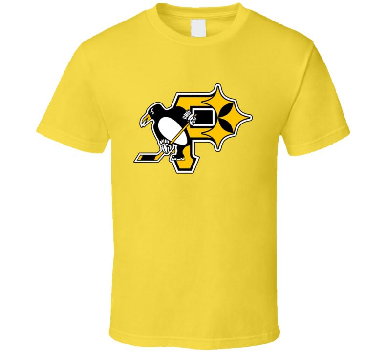 Pittsburgh Penguins Steelers Pirates Mashup T Shirt