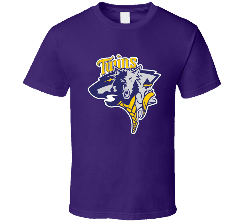 Minnesota Twins Timberwolves Vikings Wild Mashup T Shirt