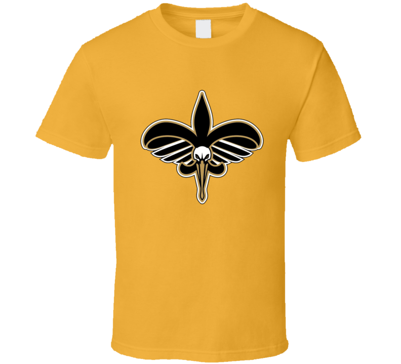 New Orleans Saints Pelicans Mashup T Shirt