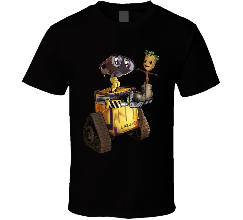 Wall-e And Groot T Shirt