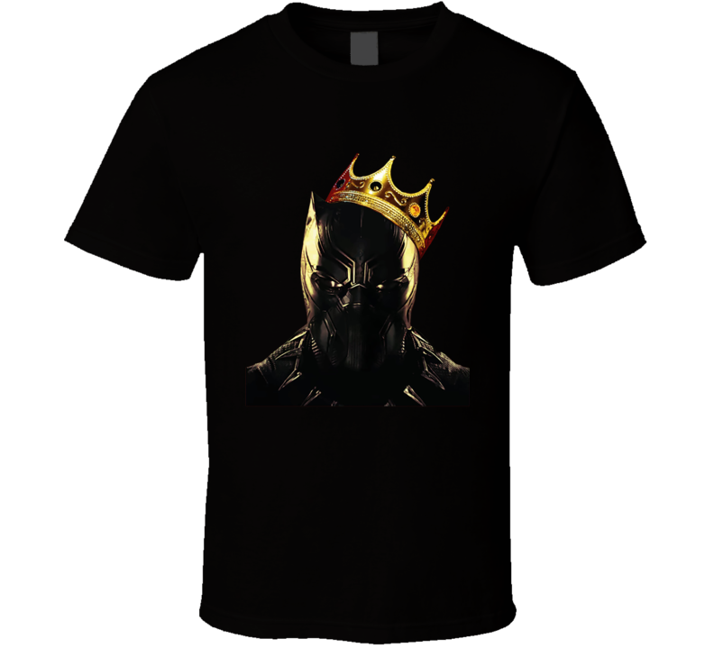 Black Panther - The Notorious T'challa T Shirt