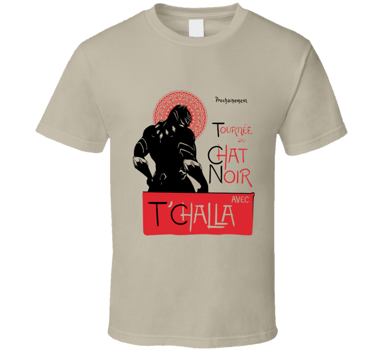 Chat Noir T'challa Black Panther T Shirt