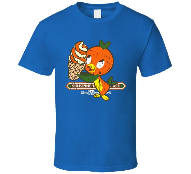 Florida Orange Bird Disney T Shirt