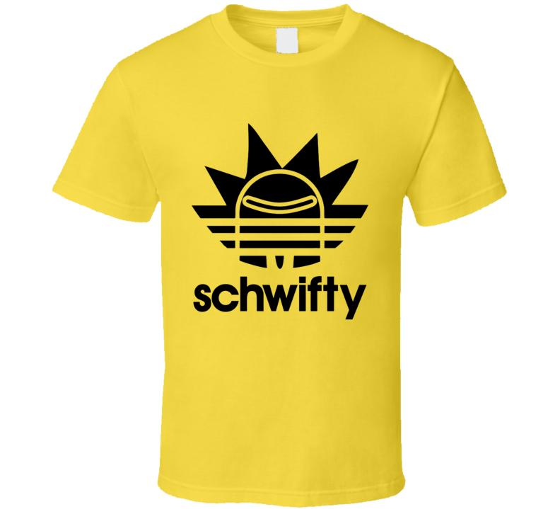 Schwifty Adidas T Shirt