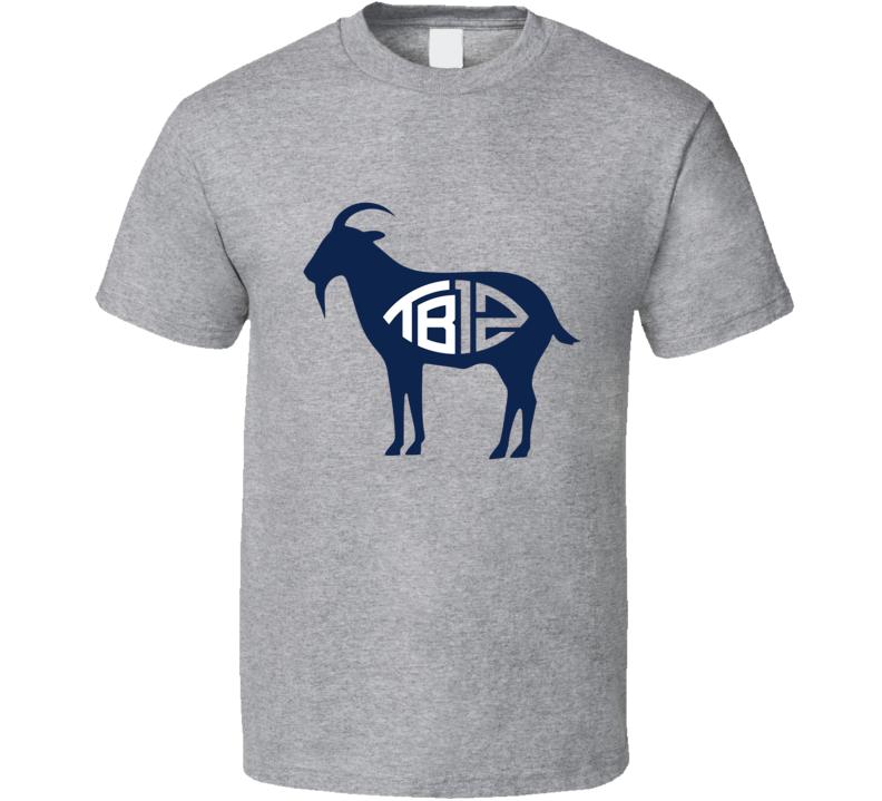 Tom Brady Tb12 Goat T Shirt