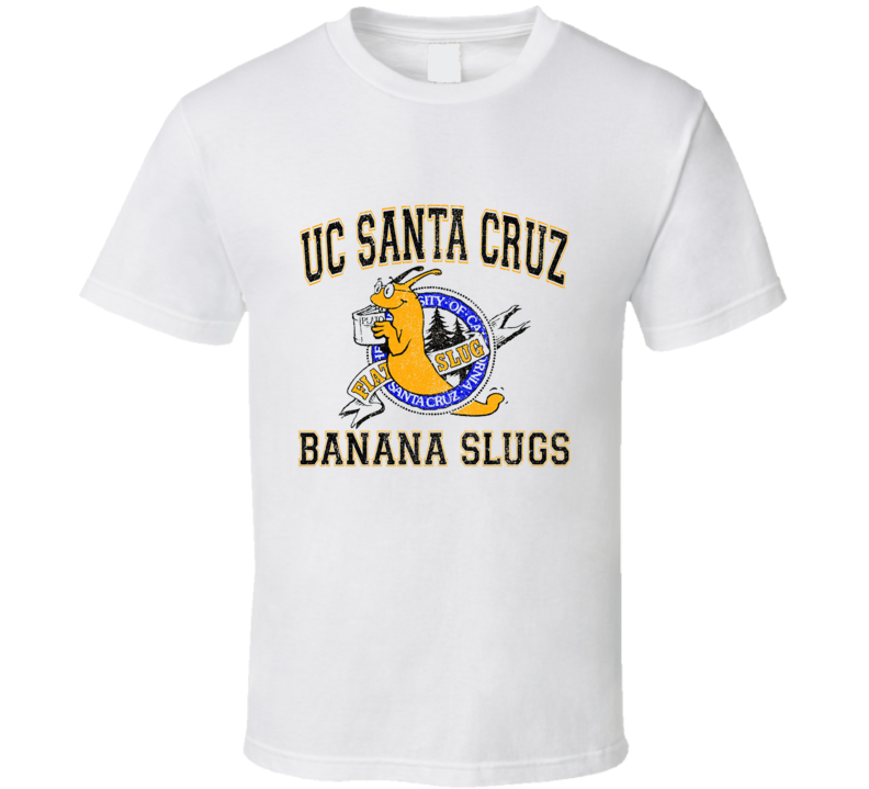 Uc Santa Cruz Banana Slugs T Shirt
