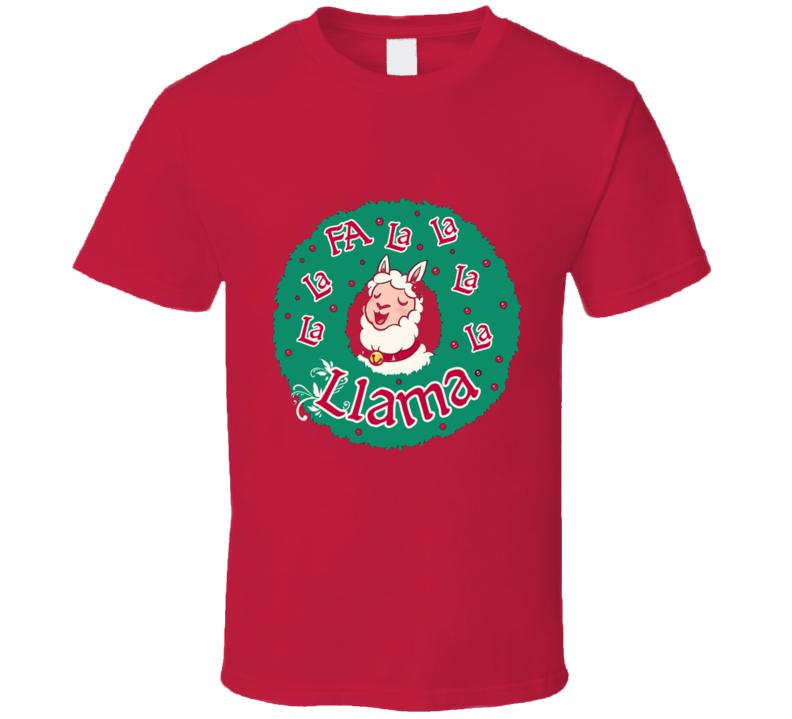 Fa La La La Llama T Shirt