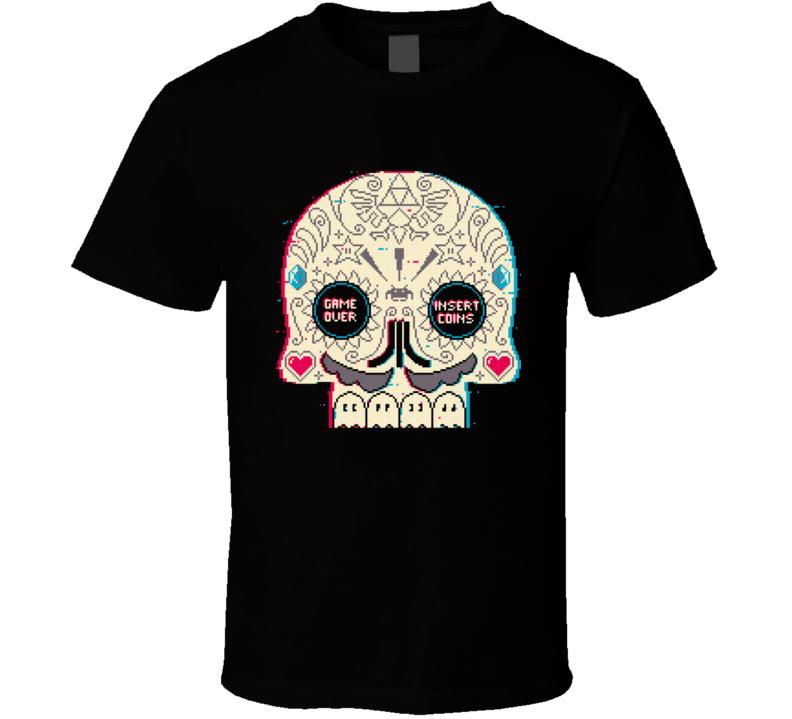 Gamer Skull T Shirt
