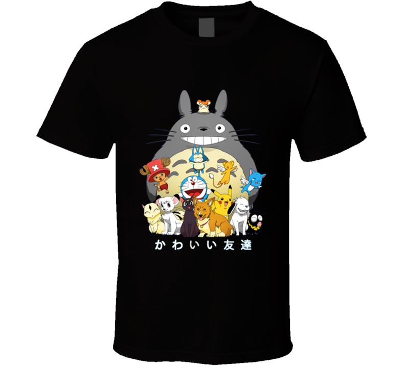 Kawaii Friends T Shirt