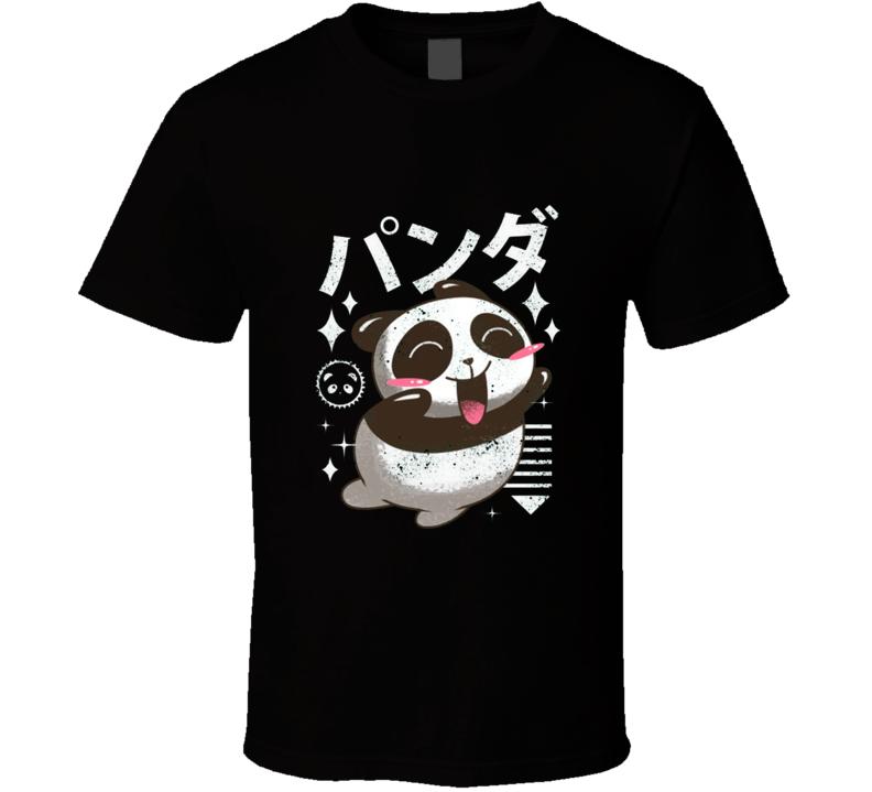 Kawaii Panda T Shirt