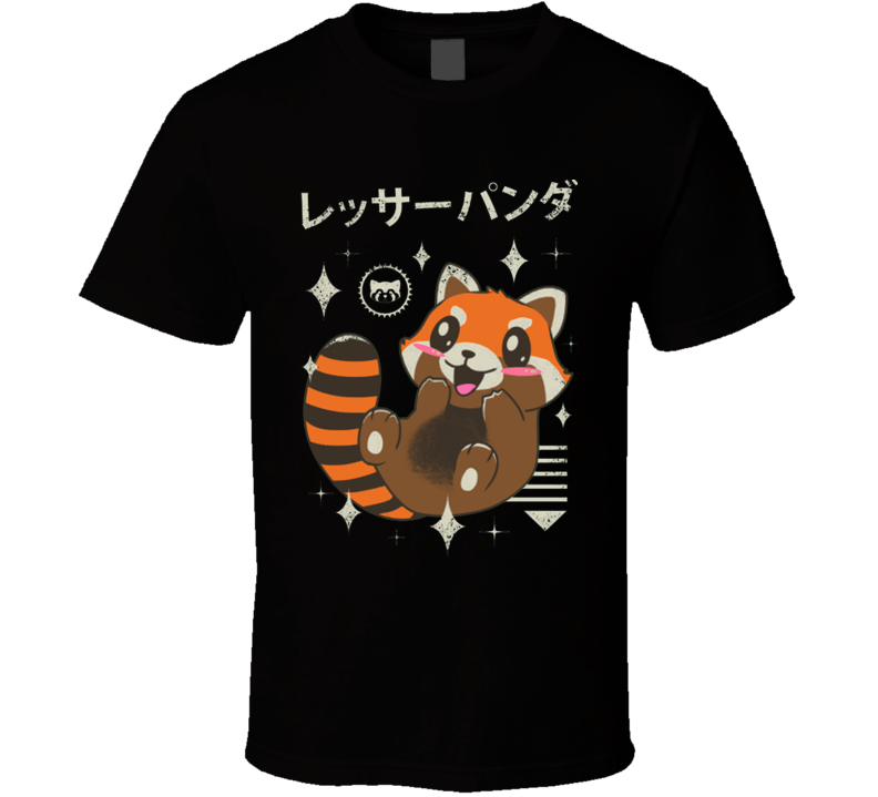 Kawaii Red Panda T Shirt
