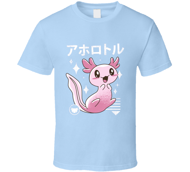Kawaii Axolotl Pokemon T Shirt