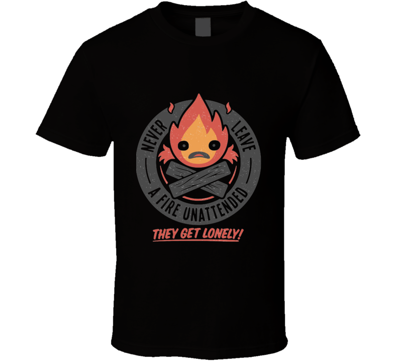 Lonely Fire Demon T Shirt