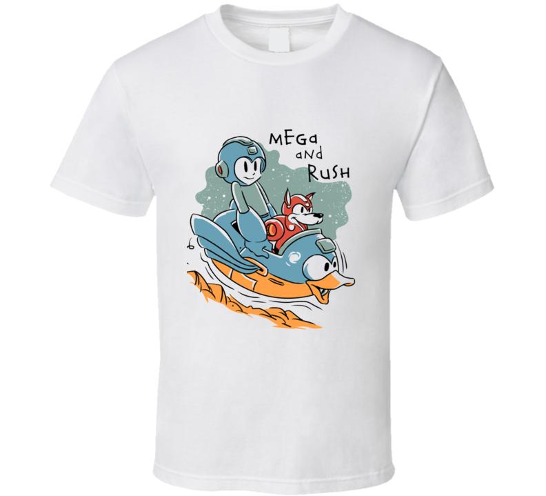 Mega And Rush T Shirt