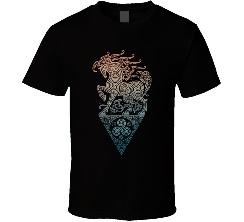 Odin's Steed T Shirt