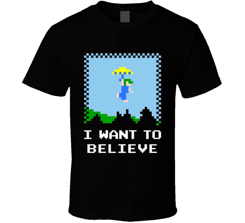 Retro Believer T Shirt