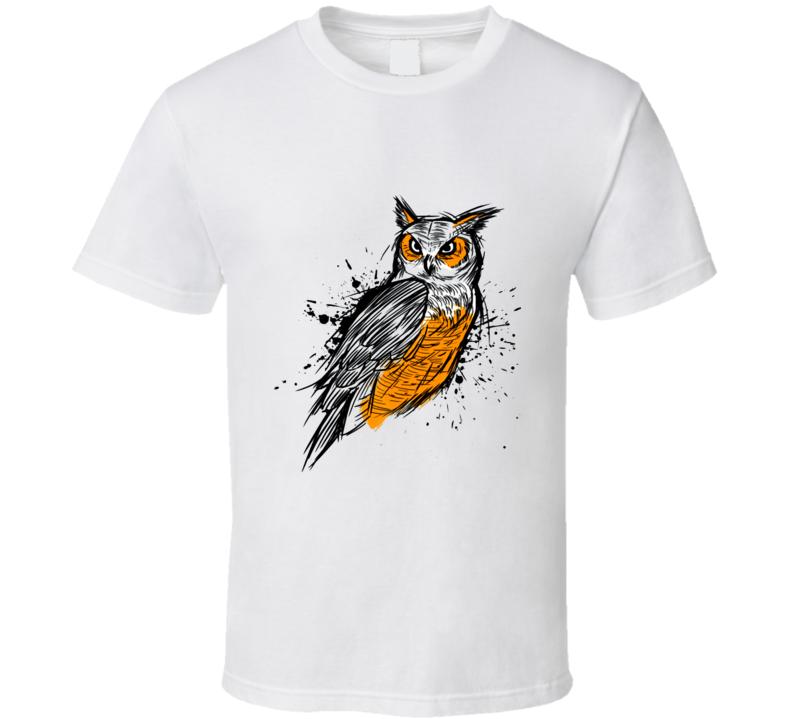 Sketch Owl T Shirt