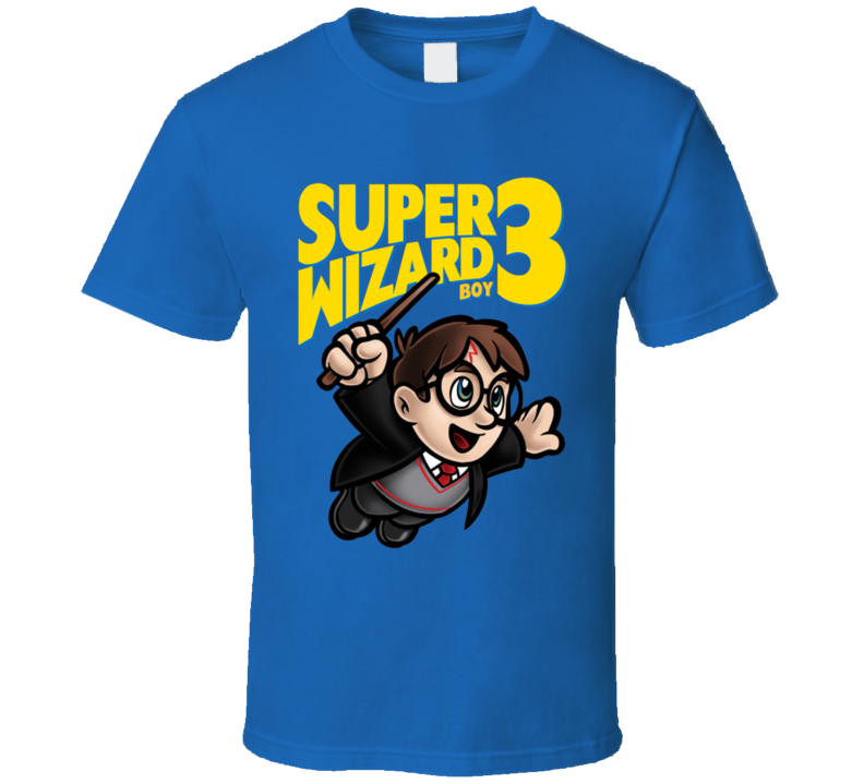 Super Wizard Boy 3 T Shirt
