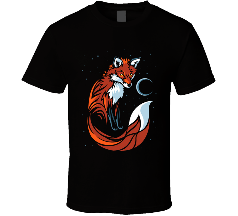 Tribal Tail Fox T Shirt