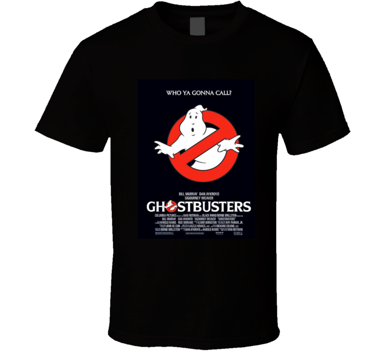 15 Ghostbusters T Shirt