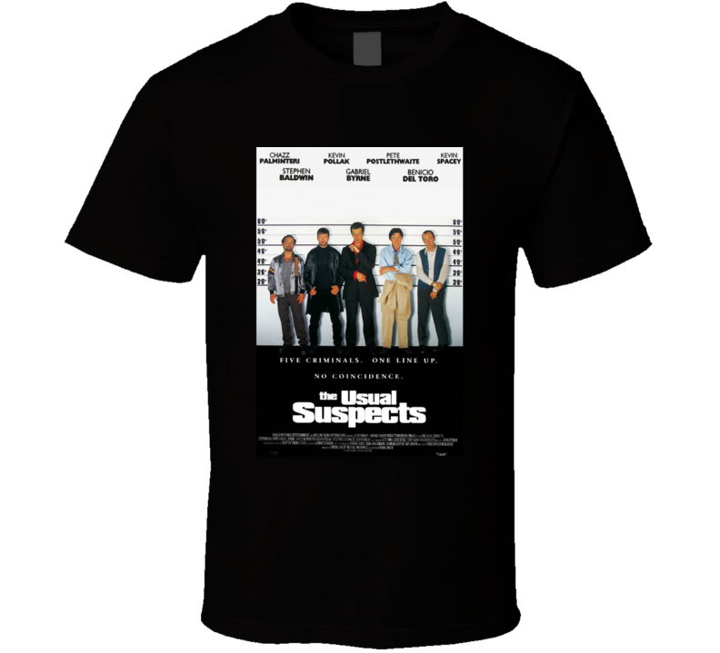 The Usual Suspects T Shirt