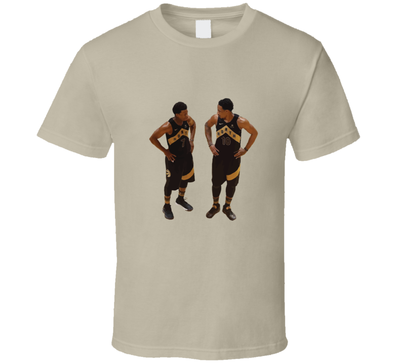 Kyle Lowry and Demar DeRozan Toronto Raptors T Shirt