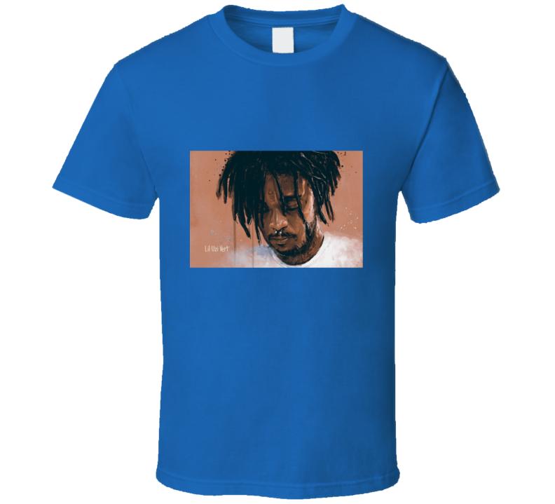 Lil Uzi Face Sticker: Lil Uzi Vert Fan Art Face T Shirt