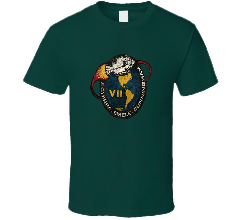 Nasa Space Mission Vii T Shirt