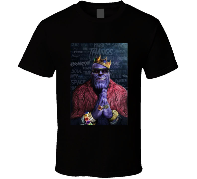 Avengers Thanos Biggie Smalls T Shirt
