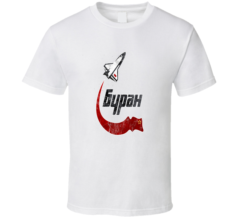 Soviet Space Program T Shirt