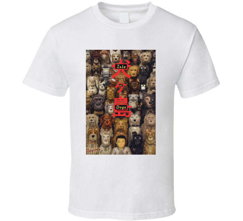 Isle Of Dogs (1-3) Movie T Shirt