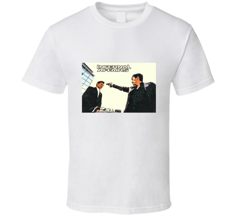 Infernal Affairs (2002) Movie T Shirt
