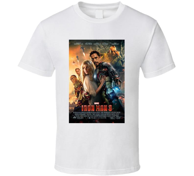 Iron Man 3 T Shirt
